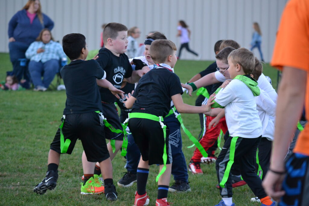 1st and 2nd Grade Flag Football