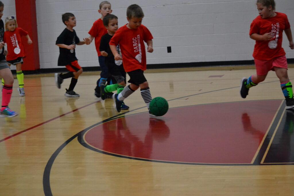 K-2 Indoor Soccer